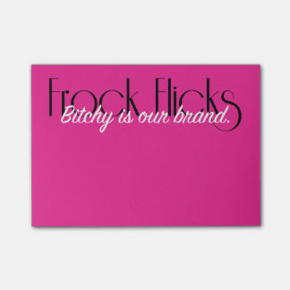 Frock Flicks Brand - Sticky Notes
