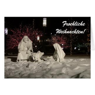 Froehliche Weihnachten Card