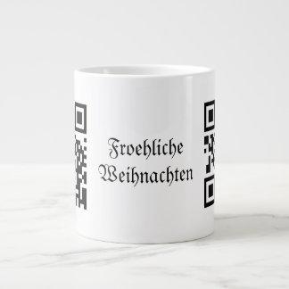 Froehliche Weihnachten - German Extra Large Mug