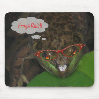 frog 014_edited-2 mouse pad