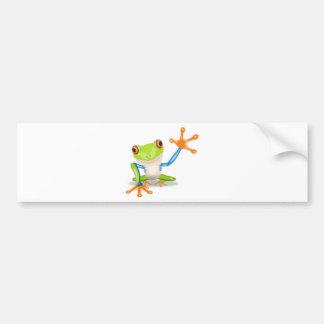frog-1526 bumper sticker