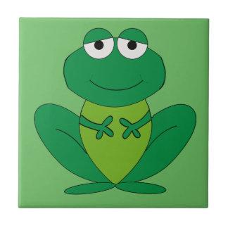 Frog 1 ceramic tile
