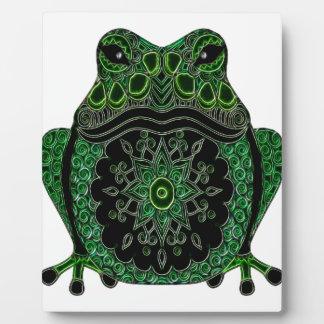 Frog 1 plaque
