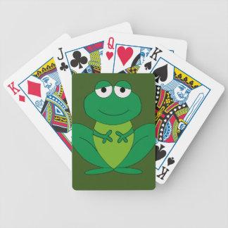 Frog 1 poker deck