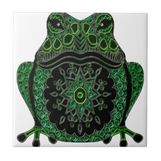 Frog 1 small square tile