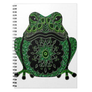 Frog 1 spiral note books