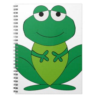 Frog 1 spiral notebooks
