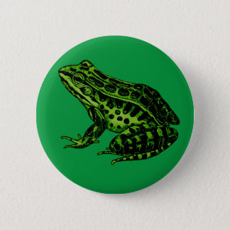 Frog 2 6 cm round badge