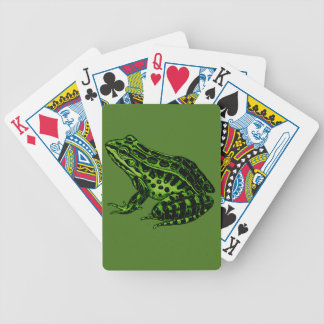 Frog 2 bicycle playing cards