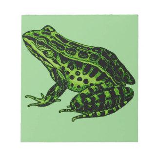 Frog 2 notepad