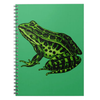 Frog 2 spiral note books