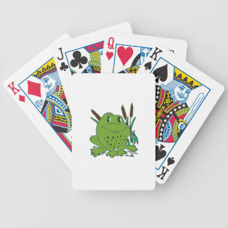 Frog 3 bicycle playing cards