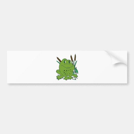Frog 3 bumper sticker