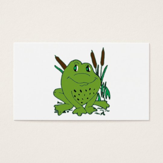 Frog 3 business card