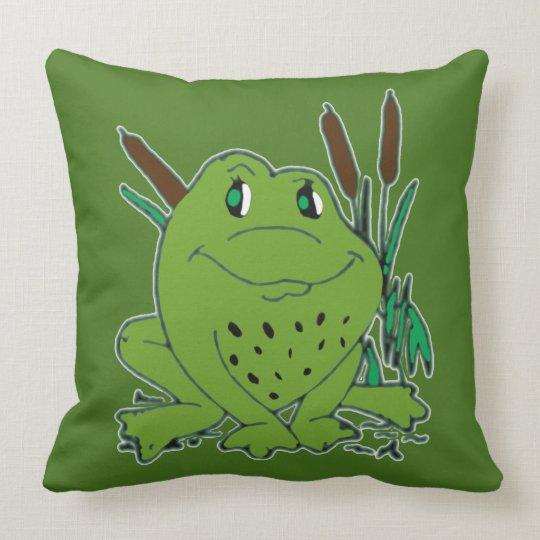 Frog 3 cushion