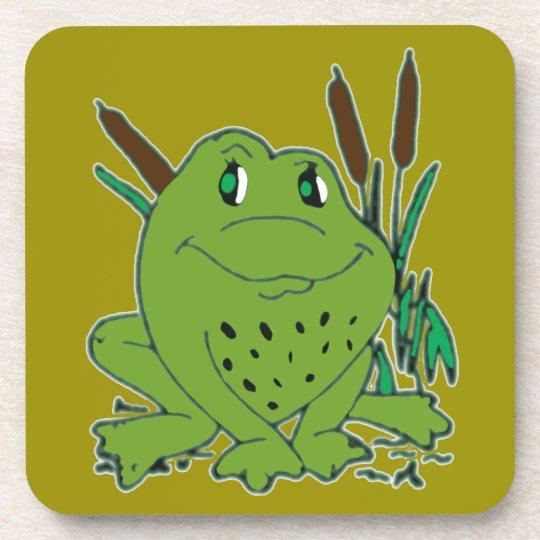 Frog 3 drink coaster