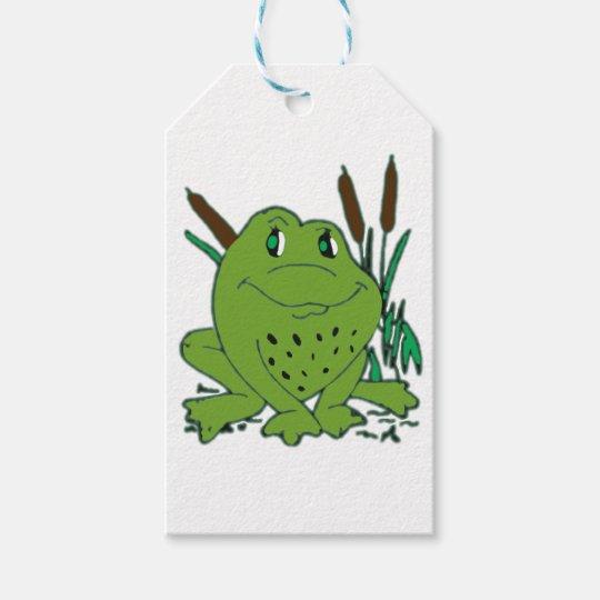 Frog 3 gift tags