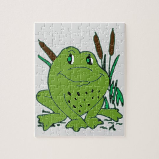 Frog 3 jigsaw puzzle