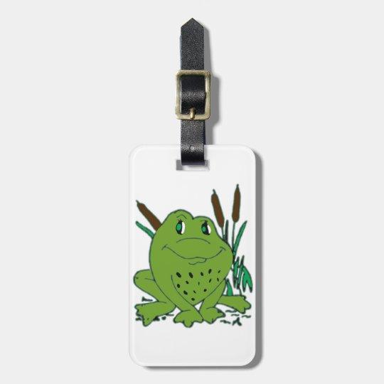 Frog 3 luggage tag