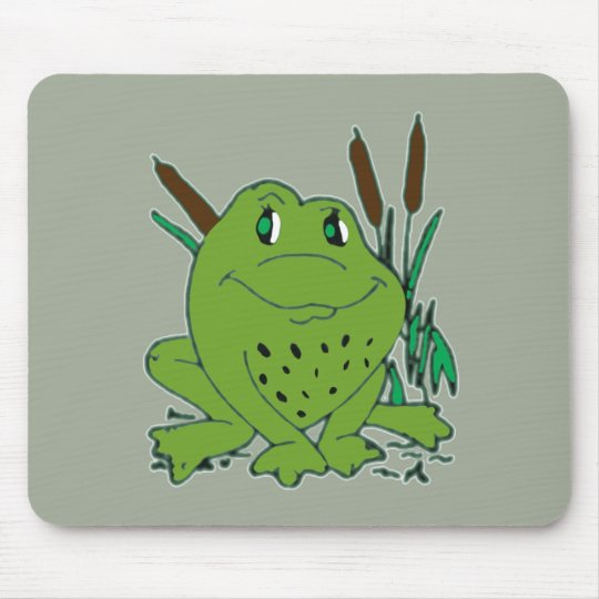 Frog 3 mouse pad