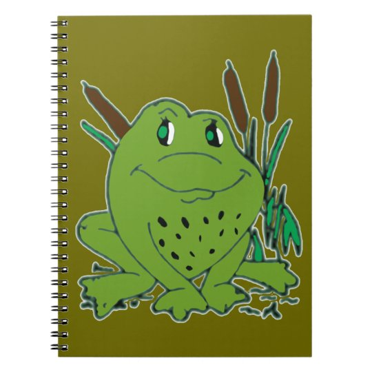 Frog 3 note books