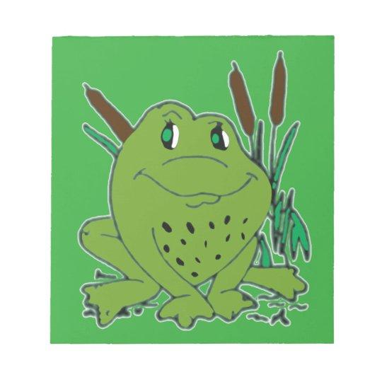 Frog 3 notepad