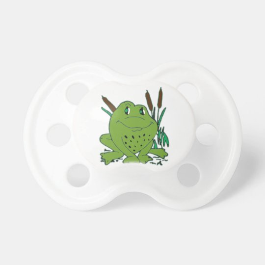 Frog 3 pacifiers