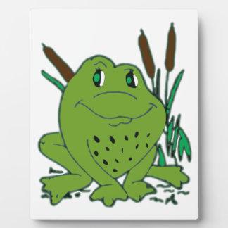 Frog 3 plaque