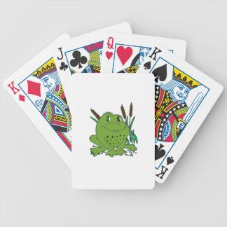 Frog 3 poker deck