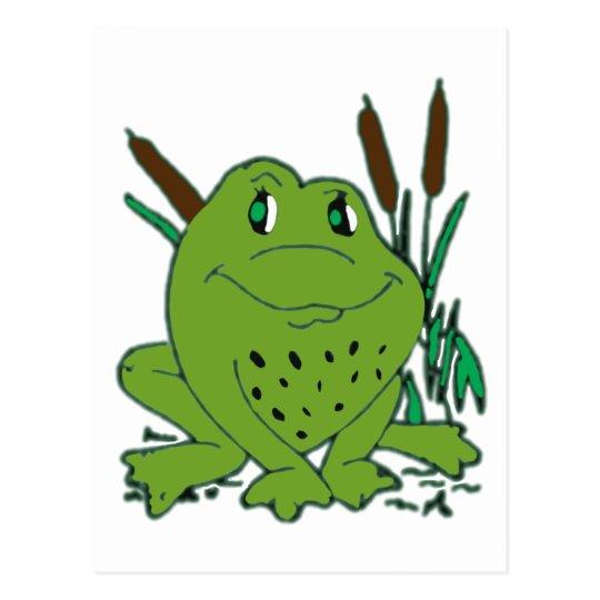 Frog 3 postcard