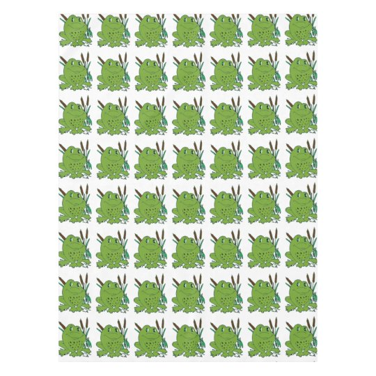 Frog 3 tablecloth