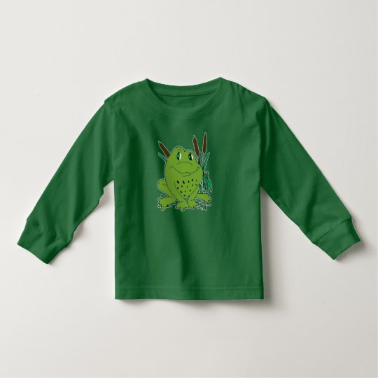 Frog 3 toddler T-Shirt