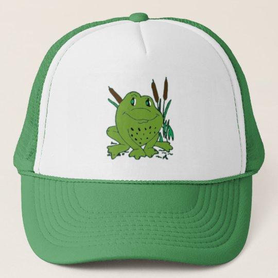 Frog 3 trucker hat