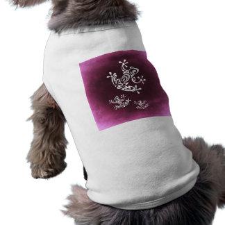 frog-687328 TATTOO FROG ISLAND STYLE GRAPHICS TROP Sleeveless Dog Shirt