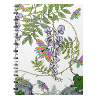 FROG AND BUTTERFLIES NOTEBOOKS