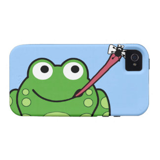 Frog and Fly Phone Case-Mate iPhone 4 Cover