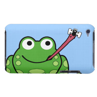 Frog and Fly Pod Barely There iPod Covers