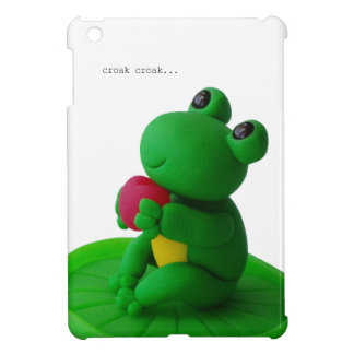 Frog and heart cover for the iPad mini
