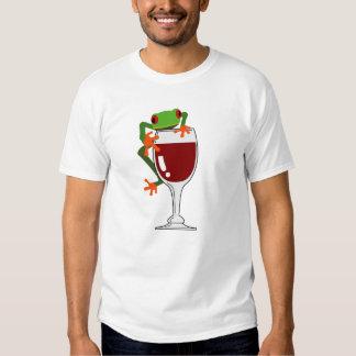 Frog and Wine Shirt