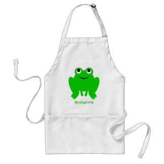 Frog Apron Just Add Name