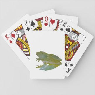 Frog Art Poker Deck