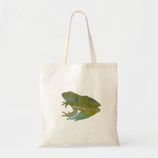 Frog Art Tote Bag