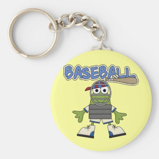 Frog Baseball - Catcher Tshirts and  Gifts Key Chains