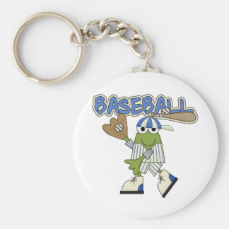 Frog Baseball - Catcher Tshirts and Gifts Keychain