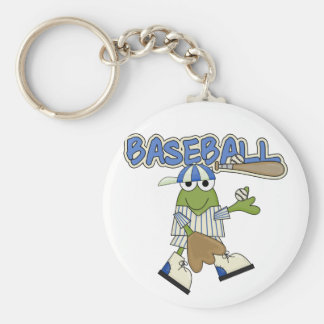 Frog Baseball Pitcher T-shirts and Gifts Key Chains