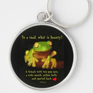 Frog Beauty Key Chain
