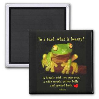 Frog Beauty Magnet