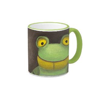 Frog Boy Coffee Mugs