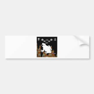 FROG BRICK BACKGROUND PRODUCTS BUMPER STICKERS
