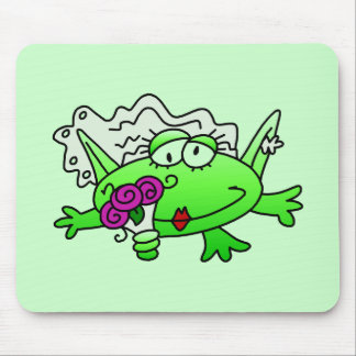 Frog Bride T-shirts and Gifts Mouse Pads